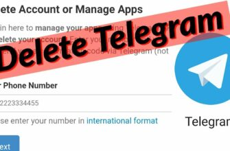 Delete Telegram